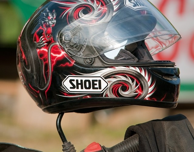 shoei kask hemlet bmw gs challange