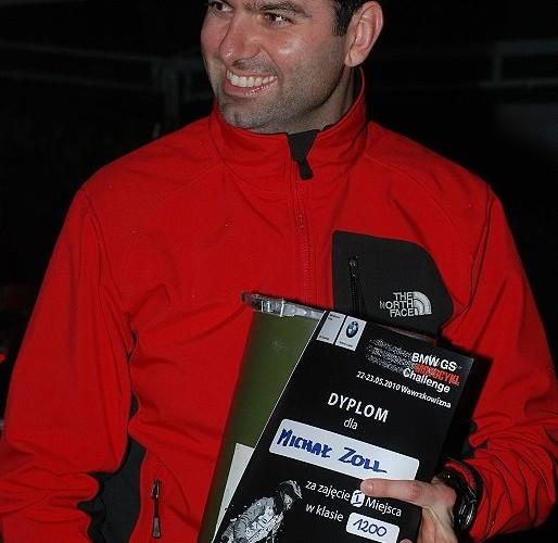 Michal Zoll nareszcie pierwszy klasa 1200