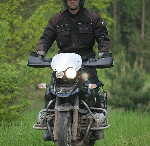 Okolice Belchatowa na motocyklu