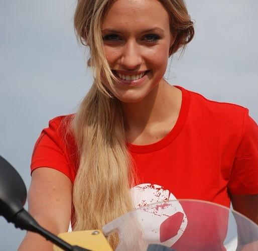Alena Gerber BMW Motorrad