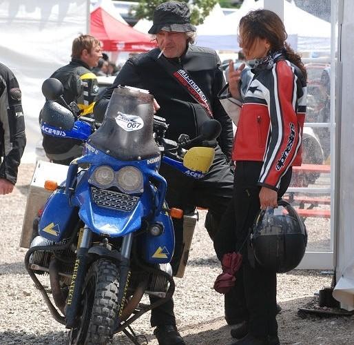 Motocyklisci BMW Garmisch