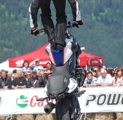 Stunt show Chris Pfeiffer