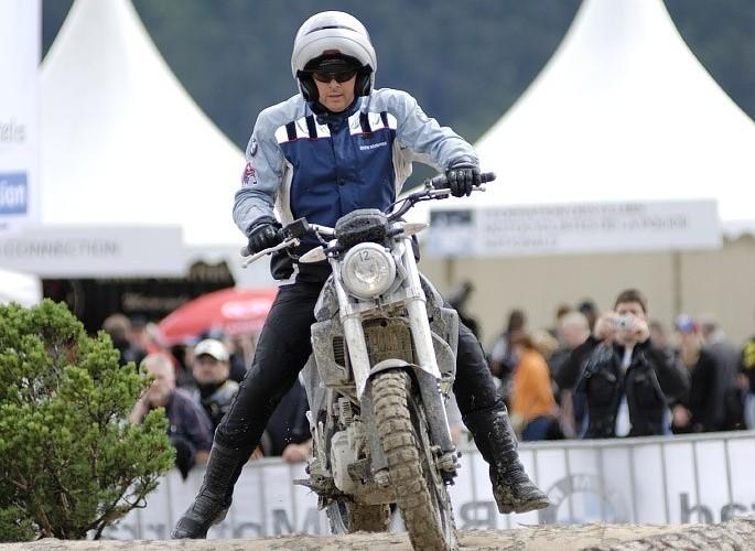 BMW Enduro test