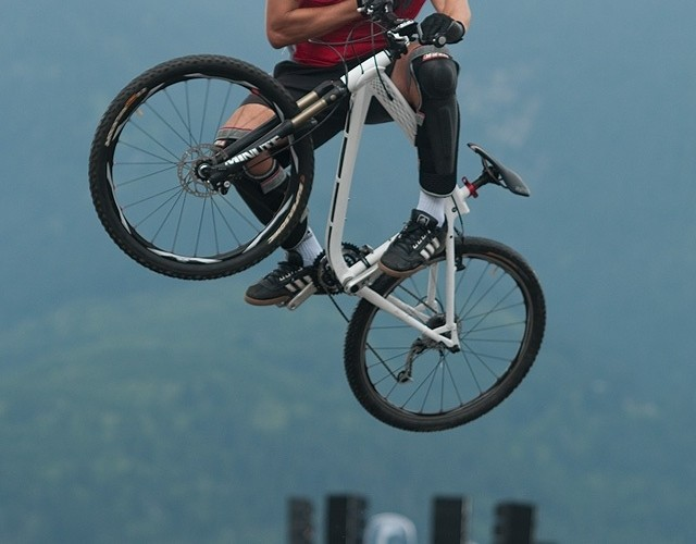 bmw trial bike show garmish