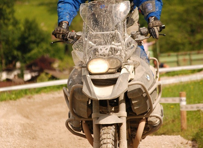 BMW R1200 GS jazda enduro
