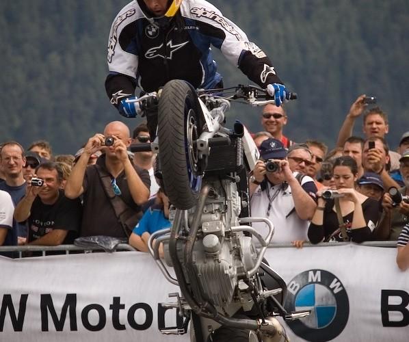 christian pfeiffer pokazy stunt bmw motorrad 2008