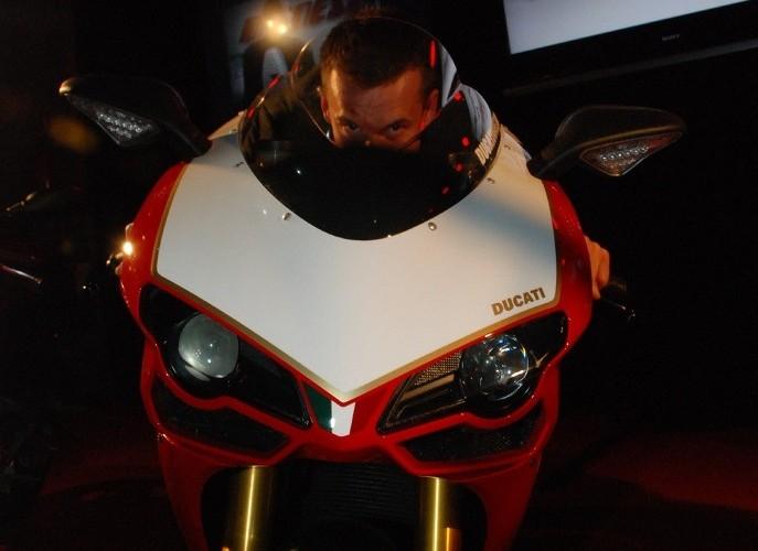 Ducati prawie jak podczas wyscigu