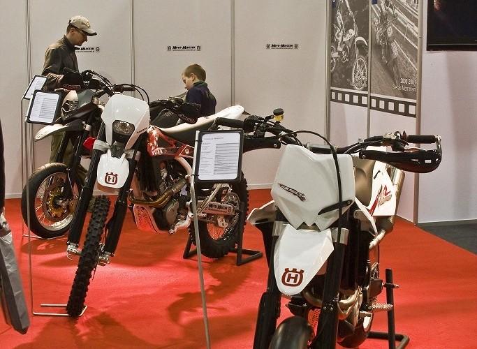 motocykle husaberg wystawa motocykli warszawa 2009 b img 0069