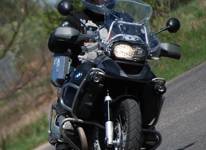 Motocyklowy dzien w CSP