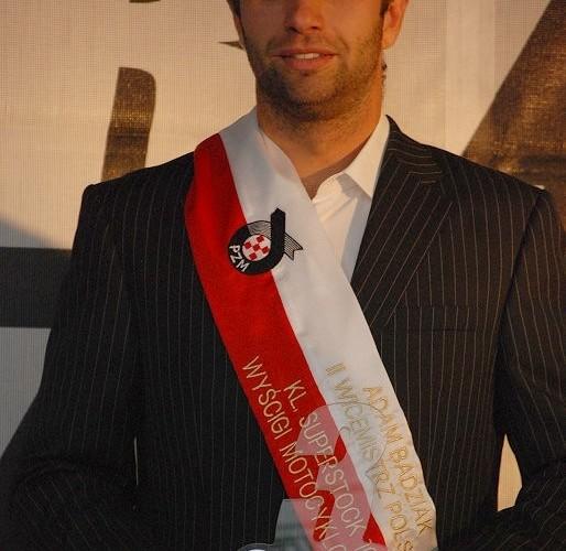 Adam Badziak Superstock1000 II Wicemistrz Polski