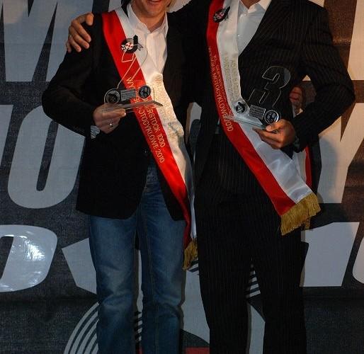 Adam Badziak Waldek Chelkowski Gala Sportow Motocyklowych