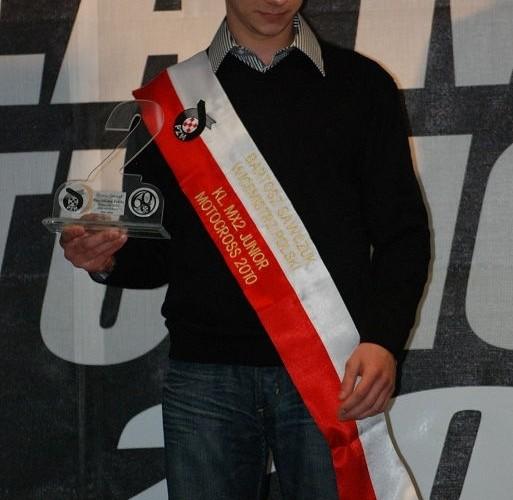 Bartosz Sawczuk Wicemistrz Polski MX2 Junior