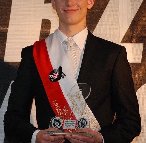 Filip Wieckowski II Wicemistrz Polski Cross Country Junior