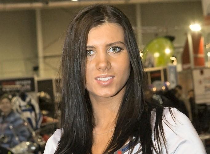dziewczyna suzuki wystawa motocykli e mg 0307