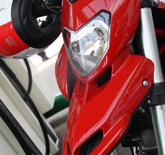 Ducati dziub Motocyklowa Niedziela na BP wroclaw