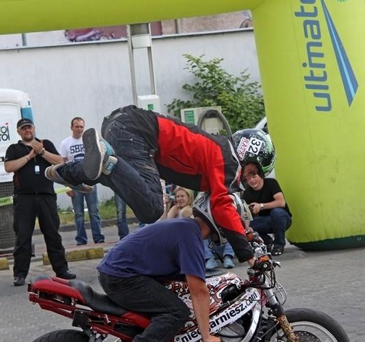 Motocyklowa Niedziela na BP wroclaw jumpstunt