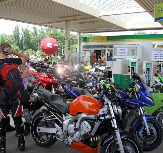 fazery Motocyklowa Niedziela na BP wroclaw