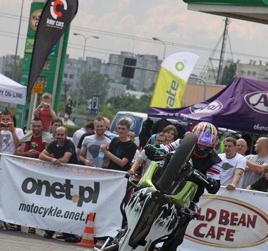 freestyle na BP Motocyklowa Niedziela na BP wroclaw pasio