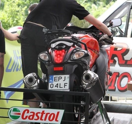 hamowanie Hayabusa Motocyklowa Niedziela na BP wroclaw
