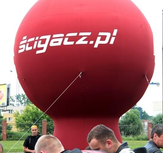 Motocyklowa Niedziela BP scigacz balon