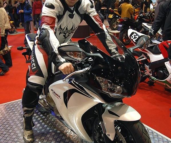 Honda CBR1000RR przymiarka