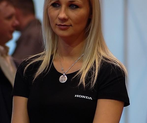 Honda dziewczyna Expo Silesia