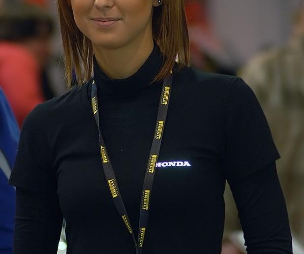 Hostessa Honda expo
