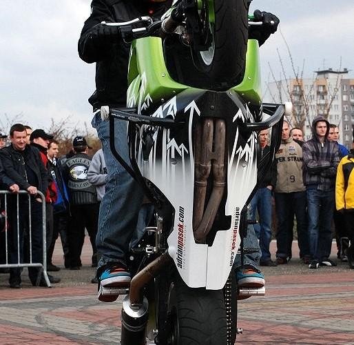 Pasek na gumie motoserce 2010 warszawa