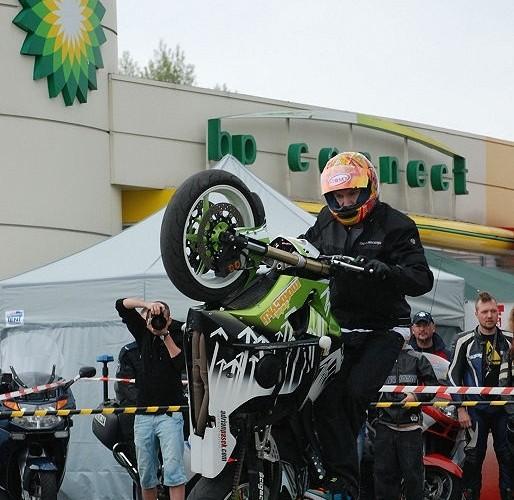 Pasek wheelie BP - motocyklowa niedziela 2010