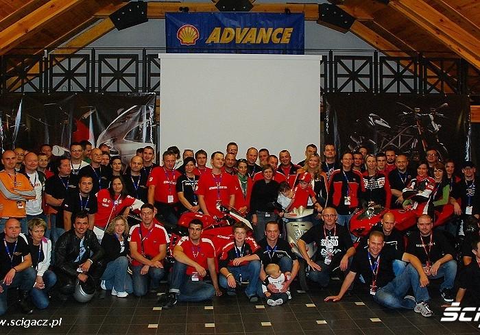 Rodzina Ducati zlot Mszczonow 2009