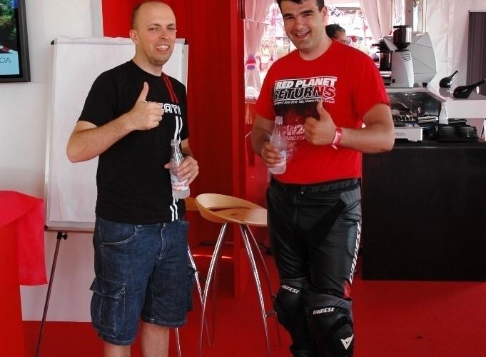 Ducati WDW 2010 Michal Przezdziek