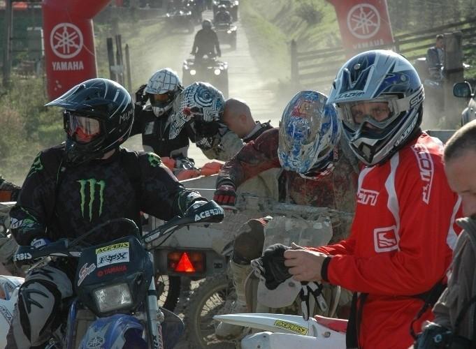Yamaha Offroad Experience 2010 motocykle