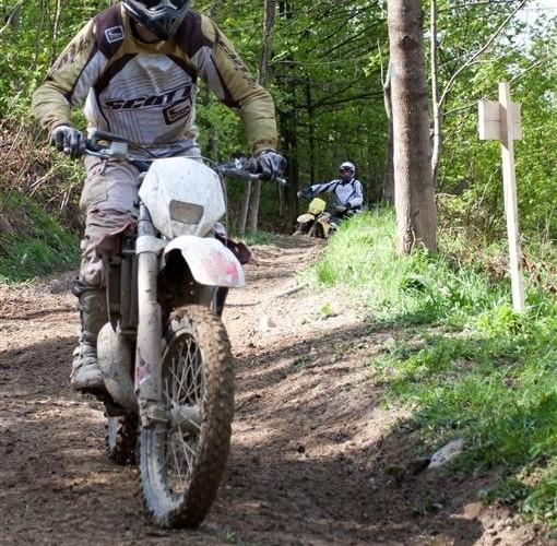 Husqvarna Yamaha Ring Road Moto w Bieszczadach