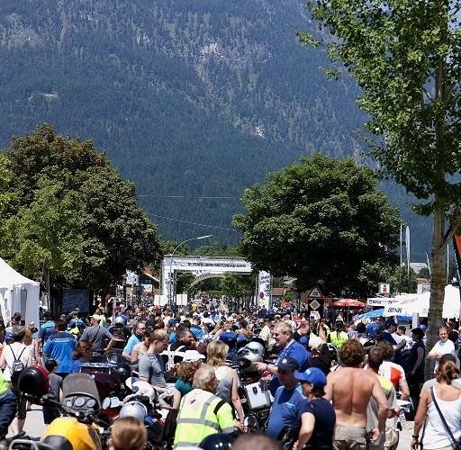 Parada motocyklowa BMW Motorrad Days