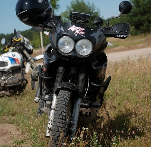Africa Twin tuning szyby