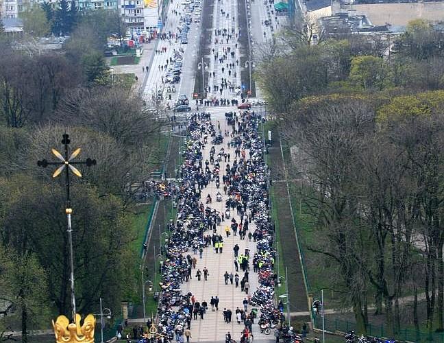 droga do klasztoru otwarcie sezonu czestochowa 2008