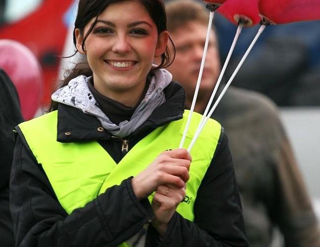 laska z balonikami otwarcie sezonu czestochowa 2008