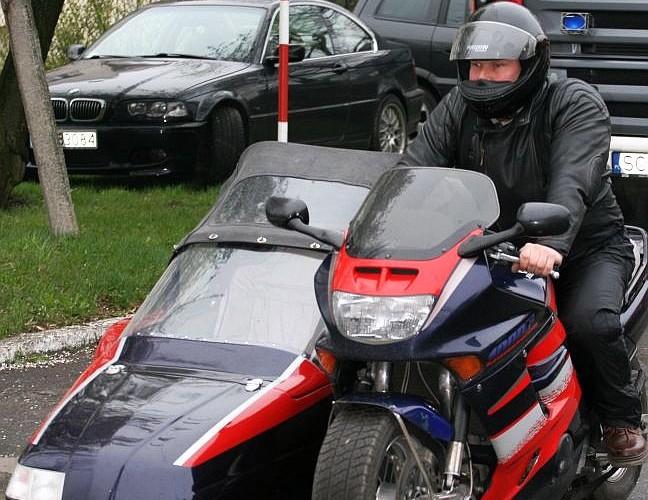 motocykl z koszem otwarcie sezonu czestochowa 2008