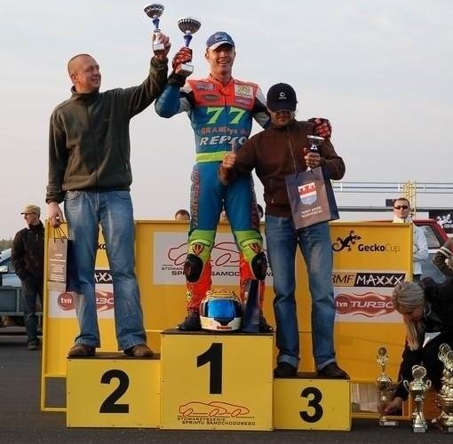 GECKO CUP MODLIN 2008 podium i zwyciezcy
