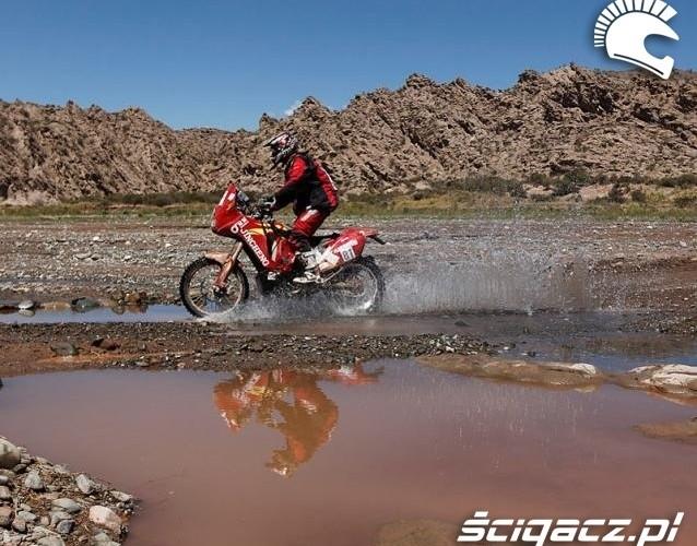 Argentyna rajd dakar motocyklista etap 11