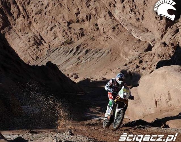 Coma Marc Dakar Rally stage 11