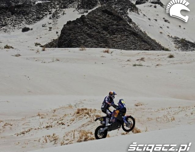 Cyril Despres na motocyklu KTM Fiambala