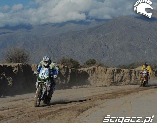 Dakar 2011 etap 3 motocykle