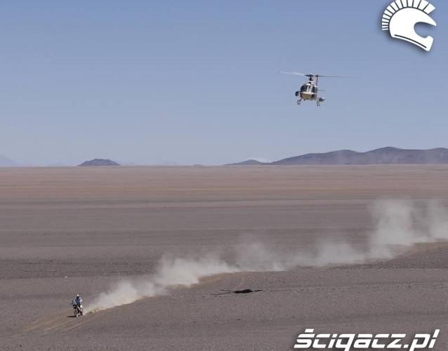 Dakar 2011 krajobraz pustyni