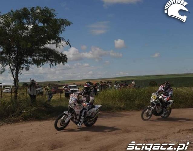 Dakar 2011 motocyklisci etap 1
