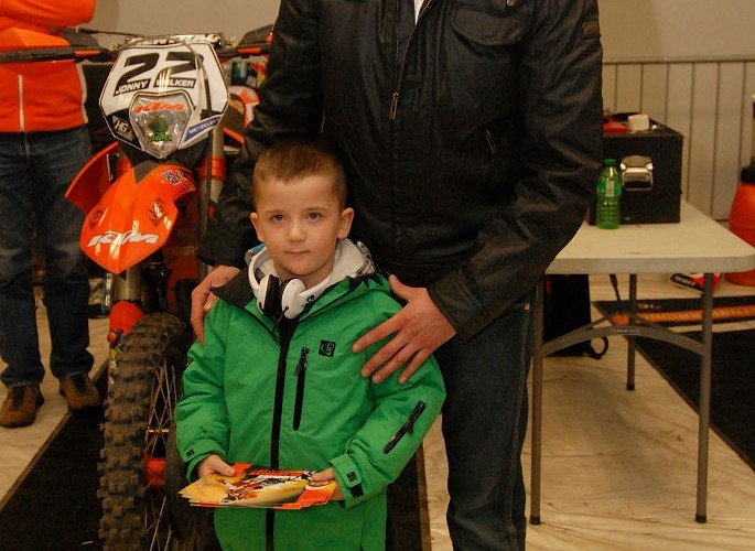 Sebastian Krywult z synem