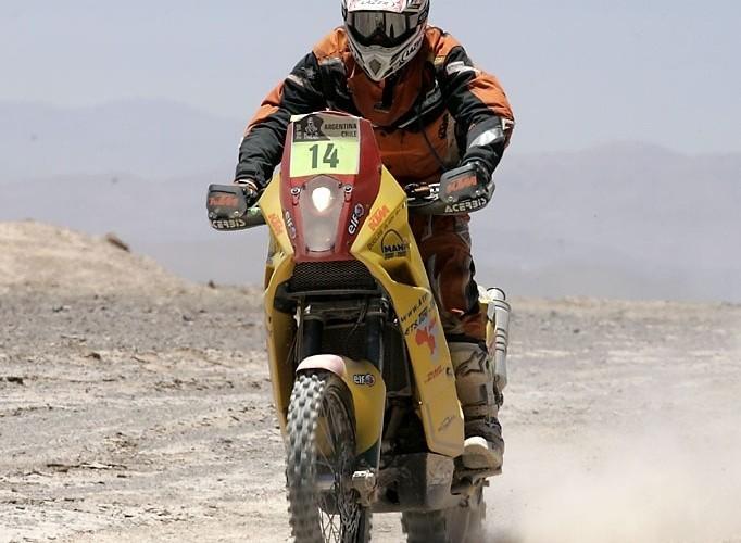 Alain Duclos Rajd Dakar