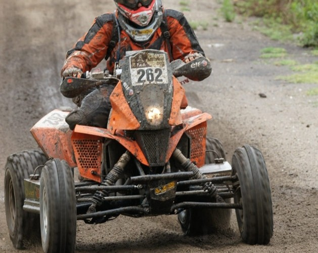 Cedric BRAGA Rajd Dakar quad KTM