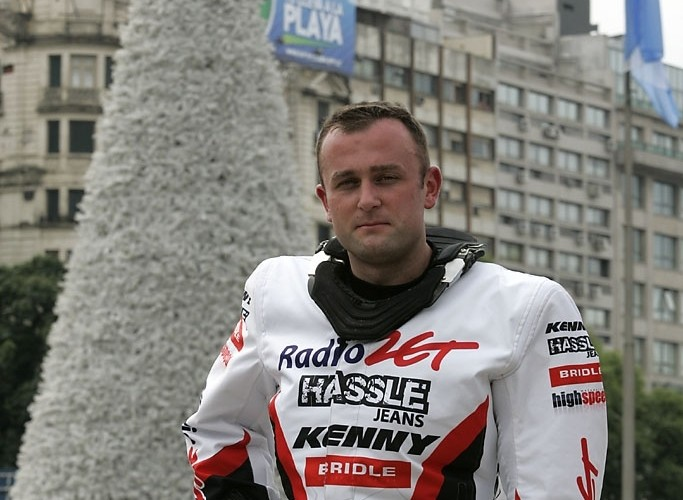 Krzysiek Jarmuz Buenos Aires rozpoczecie Rajdu Dakar 2010