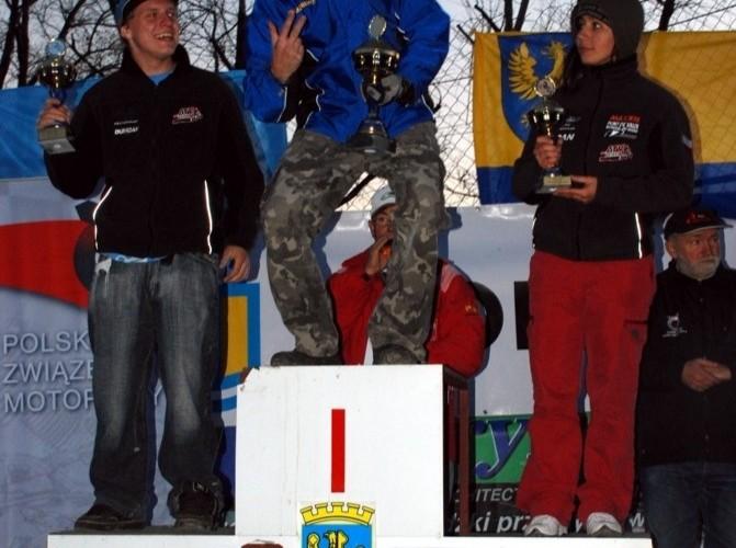 Mistrzostwa Polski Enduro 2008 zwyciezcy na podium